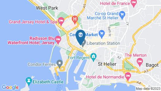 Liberty Wharf Apartments Map
