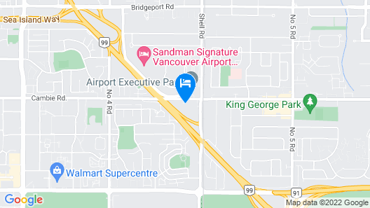 Holiday Inn Vancouver Airport, an IHG Hotel Map