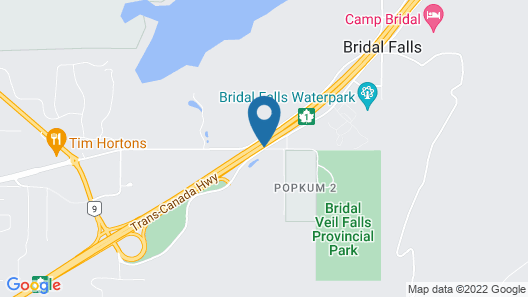 Cottages at Bridal Falls Map