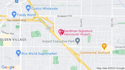 Sandman Signature Vancouver Airport Hotel & Resort Map