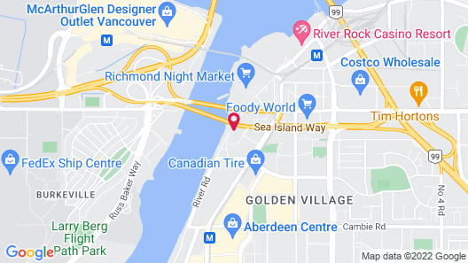 The Westin Wall Centre, Vancouver Airport Map