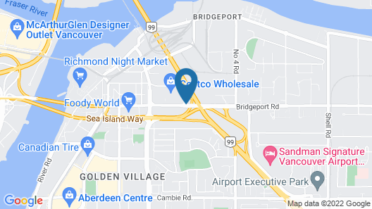 Holiday Inn Express Vancouver Airport Richmond, an IHG Hotel Map