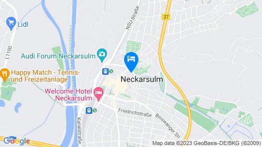 nestor Hotel Neckarsulm Map
