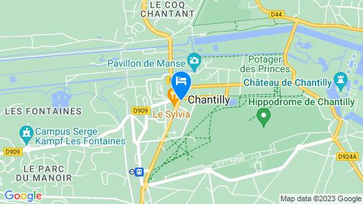 Hotel l'Avenue Map