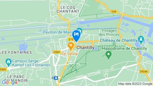 Hôtel Le Chantilly Map