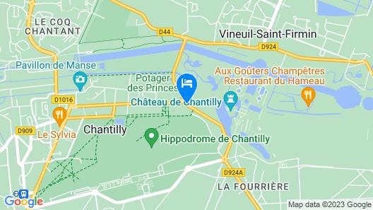 Auberge du Jeu de Paume Map