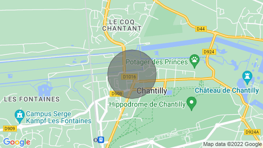 Appartement Quartier Calme au Cœur de Chantilly à 20 Minutes à Pied du Château Map