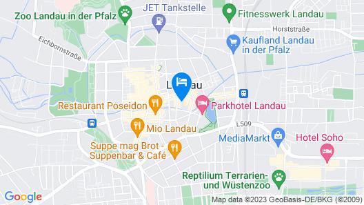 Stadtoase Map