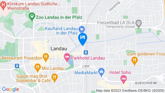 Maximilians Boutique-Hotel Landau Map