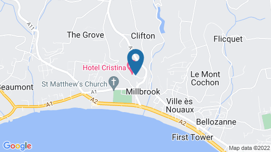 Cristina Hotel Map