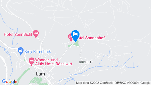Hotel Sonnenhof Map