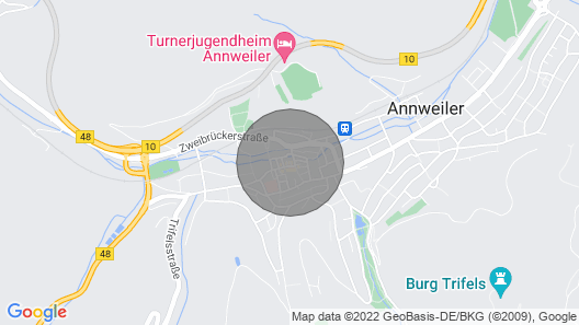 Lionheart - in the historic old town in Annweiler am Trifels - Map