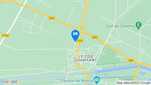 Campanile Chantilly Map