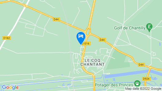 Kyriad Chantilly Map