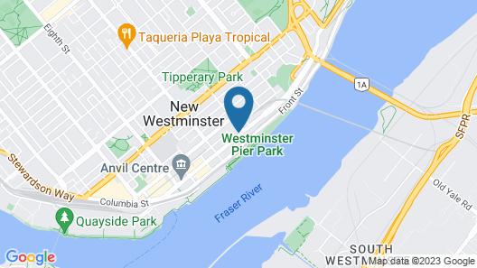Met Hotel Map