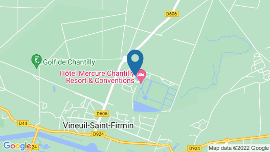 Mercure Chantilly Resort & Conventions Map