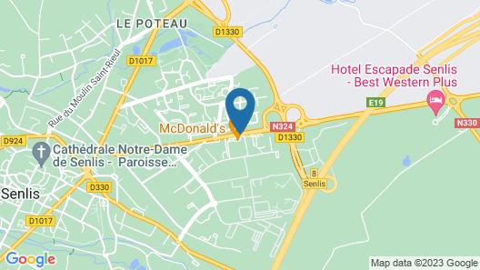 Campanile Senlis Map