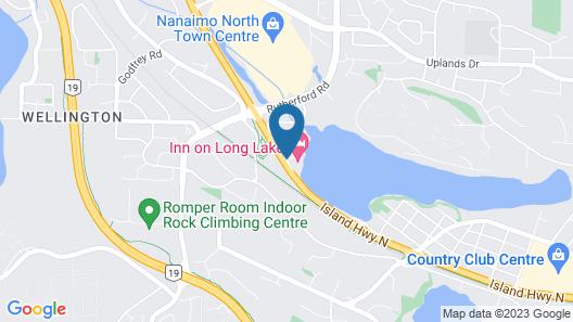 Inn On Long Lake Map