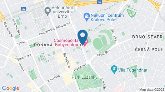 COSMOPOLITAN BOBYCENTRUM Map
