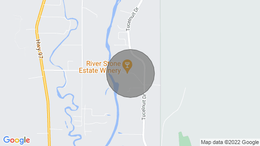 River Stone Cottage on River Stone Estate Winery in the Heart of Wine Country Map
