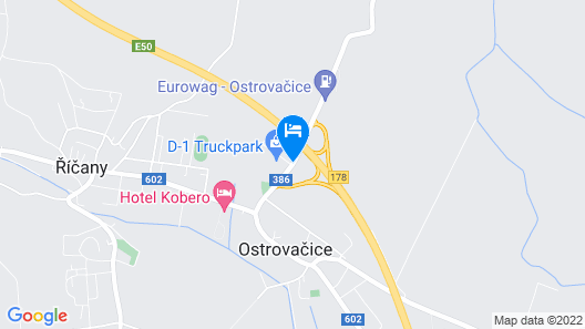Hotel D1 Map
