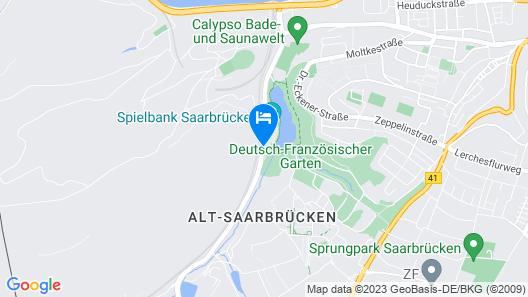 Victor's Residenz-Hotel Saarbruecken Map