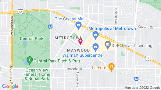 Holiday Inn Express Vancouver-Metrotown (Burnaby), an IHG Hotel Map