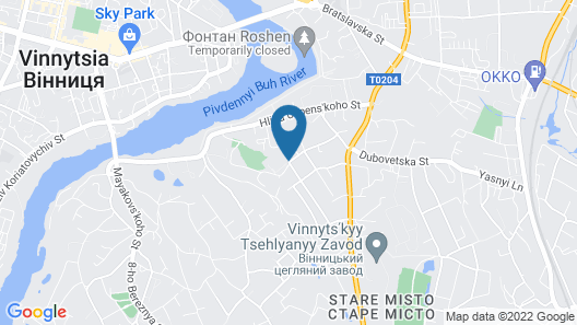 Drive Hills Hotel Map