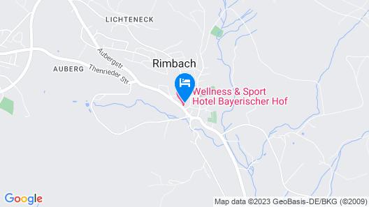 Wellness - Sport Hotel Bayerischer Hof Map