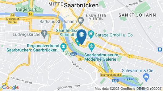 Motel One Saarbrücken Map