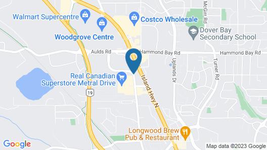 Best Western Northgate Inn Map
