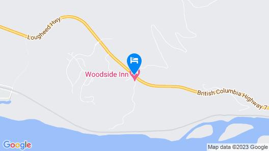 Woodside Inn Map
