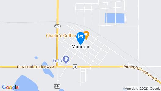 Manitou Motor Inn Map
