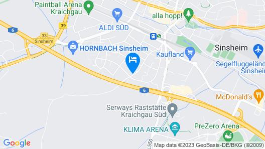 Ferienwohnung Sinsheim Map