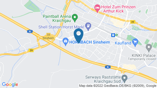 Apart- Hotel Kick Map