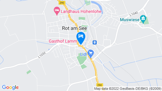 Gasthof Lamm  Map