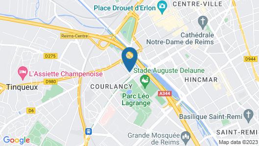 Cis De Champagne - Hostel Map