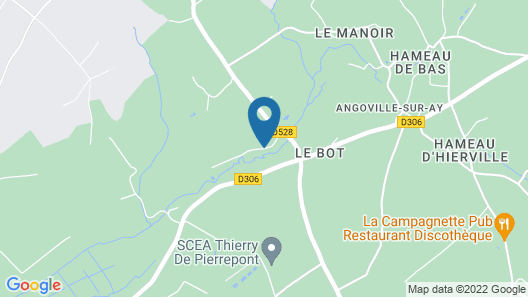 Gite Lessay, 3 Bedrooms, 6 Persons Map