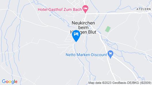 FerienHotel Hohoenbogen Map