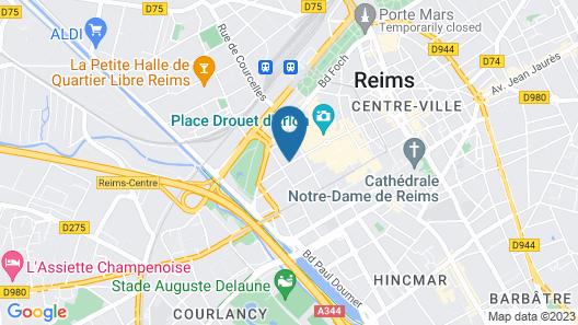 Holiday Inn Reims Centre Map