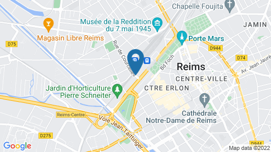 Residhome Reims Centre Map