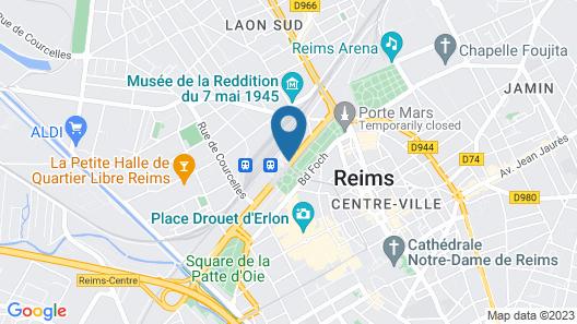 ibis Reims Centre Map