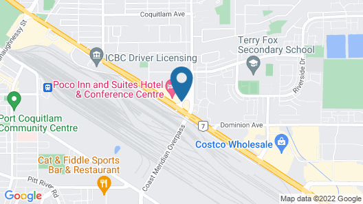 Poco Inn and Suites Hotel & Conference Centre Map