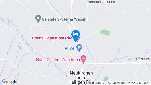 Hotel Klosterhof Map