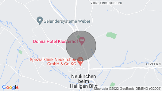 Apparthotel Klosterhof Map