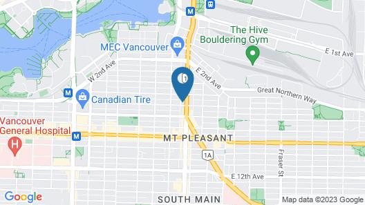 City Centre Motor Hotel Map