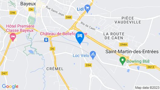 Château de Bellefontaine Map
