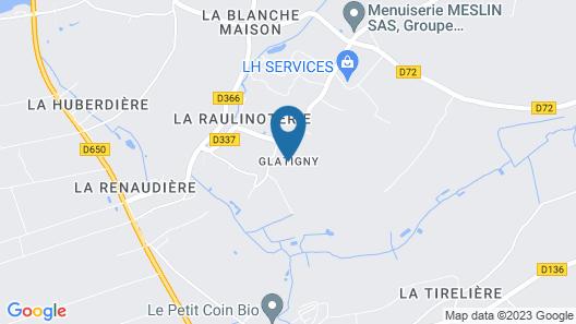 Gite La Haye-du-puits, 4 Bedrooms, 8 Persons Map