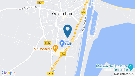 Best Western La Mare o Poissons Map