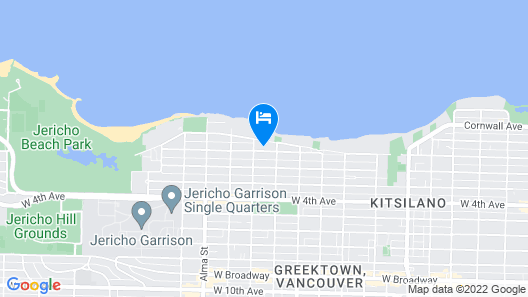 It's Kitsilano! Walk Everywhere--beaches, 4th Ave, Downtown, Granville Is, UBC Map